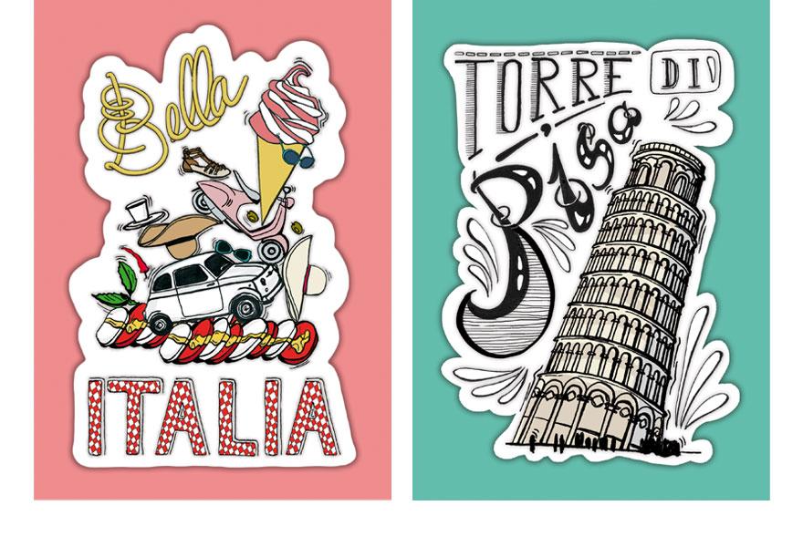 voyage en italie claire mina i graphiste illustratriceclaire mina i graphiste illustratrice. Black Bedroom Furniture Sets. Home Design Ideas